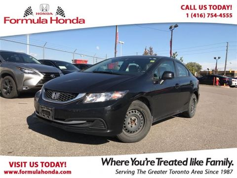 Certified Pre-Owned 2013 Honda Civic LX FWD Car