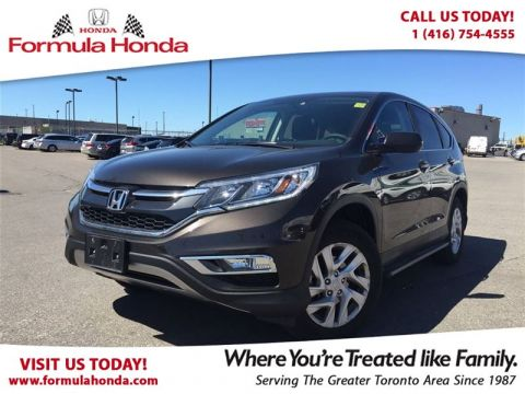 Certified Pre-Owned 2015 Honda CR-V EX   ONE OWNER   ACCIDENT FREE!   VERY LOW KM! - F AWD