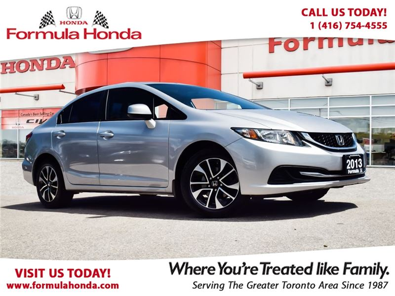 Certified Pre-Owned 2014 Honda Civic Sedan EX   HEATED SEATS   SUNROOF - FORMULA HONDA